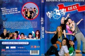 DVD Asi es RBD