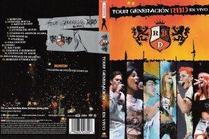 DVD Tour Generación