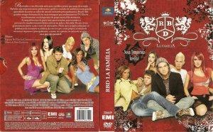 DVD RBD La Familia
