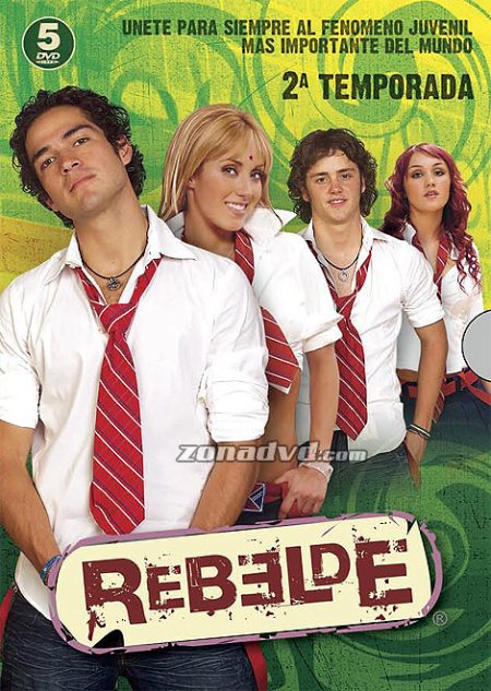 Box Rebelde 2ªTemporada
