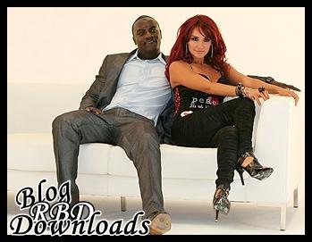 Dulce Maria e Akon